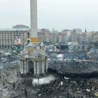 Активісти на Майдані Незалежності пережили важку ніч кривавих протистоянь