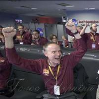 Космічний апарат NASA  успішно приземлився на Марсі