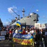 Зарубіжна спільнота  підтримує моряків-бранців