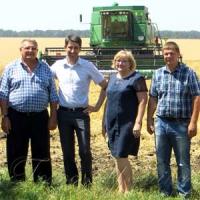 На обжинках у фермерському господарстві Володимира Івашини
