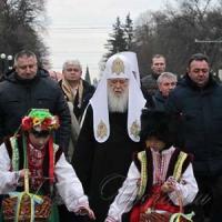Патріарх Філарет: «Ми не дамо принизити ні церкву, ні Україну!»