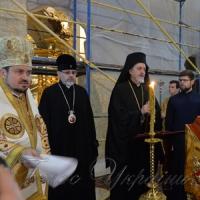 На першій Архієрейській Літургії в ставропігії Вселенського Патріарха молилися за Україну