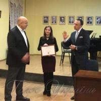 В Национальной музыкальной академии вручили ежегодную премию имени профессора Людмилы Кавериной