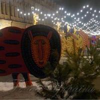 На столичній Контрактовій площі відкрилося новорічне містечко