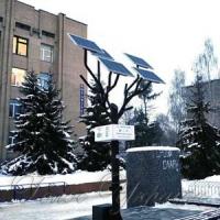 «Сонячне дерево»  з'явилося біля  декомунізованого постаменту