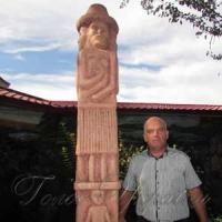 Отдых в компании Збручского идола