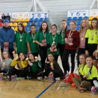 Кубок з жіночого футболу вибороли хустянки