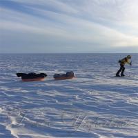 Уперше людина самостійно перетнула Антарктиду