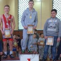 Турнір зібрав юних борців