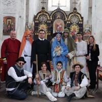 У Церкві Пресвятої Трійці м. Вільнюса днями відбулося святкове дійство — Різдвяний вертеп
