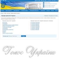 СПИСОК народних депутатів України восьмого скликання...