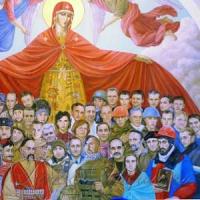 На фресці київської художниці Герої Крут, УНР і добровольчих батальйонів
