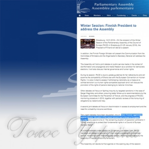 ПАРЄ у четвер ухвалить резолюцію щодо ситуації  в Керченській протоці