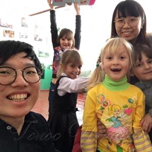 З волонтерами – цікаво і весело