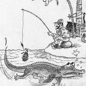 «Крокодил не ловится, не растет кокос»