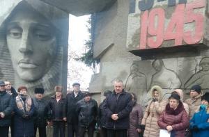 76-та річниця визволення Лимана від нацистських  загарбників