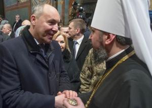 Предстоятеля Православної церкви України возведено на Київський престол
