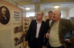 У Верховній Раді відкрилась виставка «Почесні громадяни міста Києва»