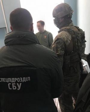Викрили на хабарі військовослужбовця Рівненської області