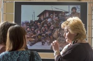 У Верховній Раді відкрито тематичну експозицію «Україна. Реалії сучасної війни»