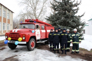 У селі Кирило-Ганнівка почала діяти місцева пожежна охорона