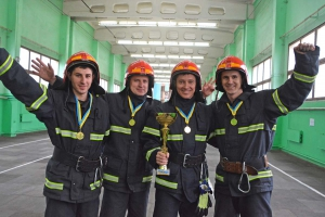 Огнеборцы Ривненской АЭС — лучшие в области