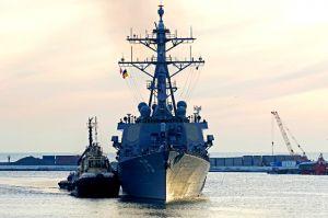 Американський есмінець прибув до Одеси для підвищення стабільності