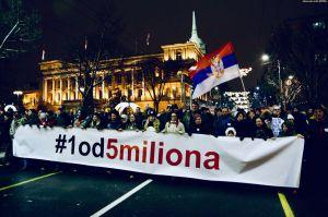 Третій місяць у Сербії протестує опозиція