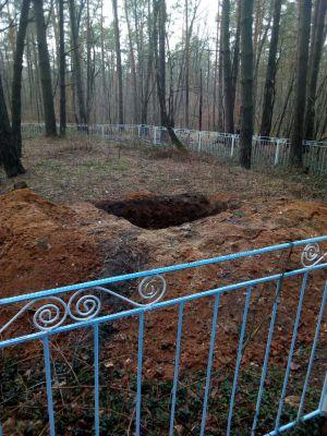 Чувствуя безнаказанность, «черные археологи» уже раскапывают могилы на Баховой горе