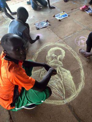Посольство Украины в Республике Кения инициировало акцию для детей