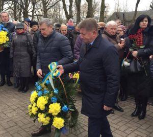 В 75-ю годовщину почтили память жертв трагедии в Сагрыни