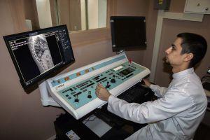 Военный госпиталь получил современный рентгенодиагностический комплекс