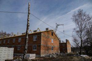 Триває будівництво казарм поліпшеного планування для контрактників
