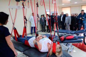 У Херcoні презентували новий Центр реабілітації бійців