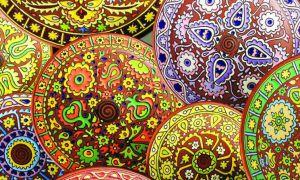Изучили коллекцию с крымскотатарским орнаментом