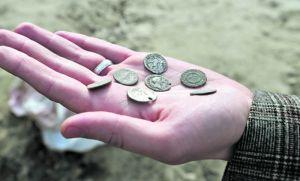 Знайдено скарб із давньоримськими монетами