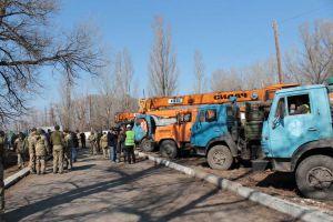 Готові до відновлення мосту в Станиці Луганській