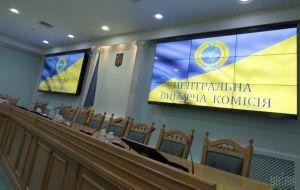 У Центральній виборчій комісії