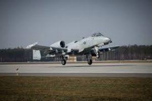 Американські й російські льотчики в польському небі