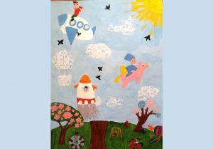 Польоти юної художниці