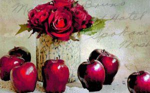 Голландцям  продають… яблука  і квіти