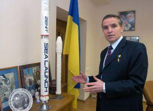 Він мріяв, щоб Україна утверджувала себе як космічна держава