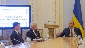Андрій Парубій: «Діти повинні знати та розуміти роль і значення парламенту»