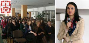 Ганна Гопко прочитала відкриті лекції  студентам