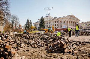 Красна площа закрита на реконструкцію