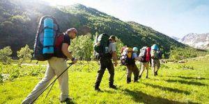 Активные туристы — на тропу здоровья