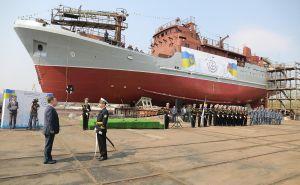 Перший «розвідник» від вітчизняних кораблебудівників поповнив бойовий склад ВМС ЗСУ