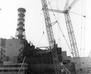 Об'єкт «Укриття» над четвертим енергоблоком ЧАЕС