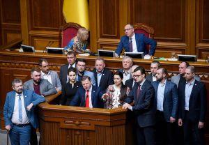 Фракція Олега Ляшка — єдина, яка дала 100 відсотків голосів за закон про мову