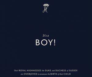 У герцога й герцогині Сассекських народився син
